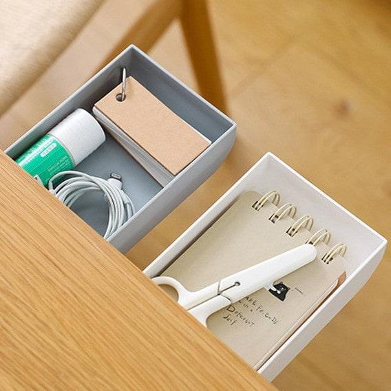 黏貼式抽屜收納盒