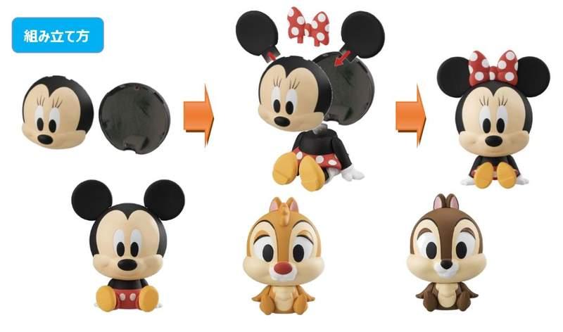 迪士尼環保扭蛋