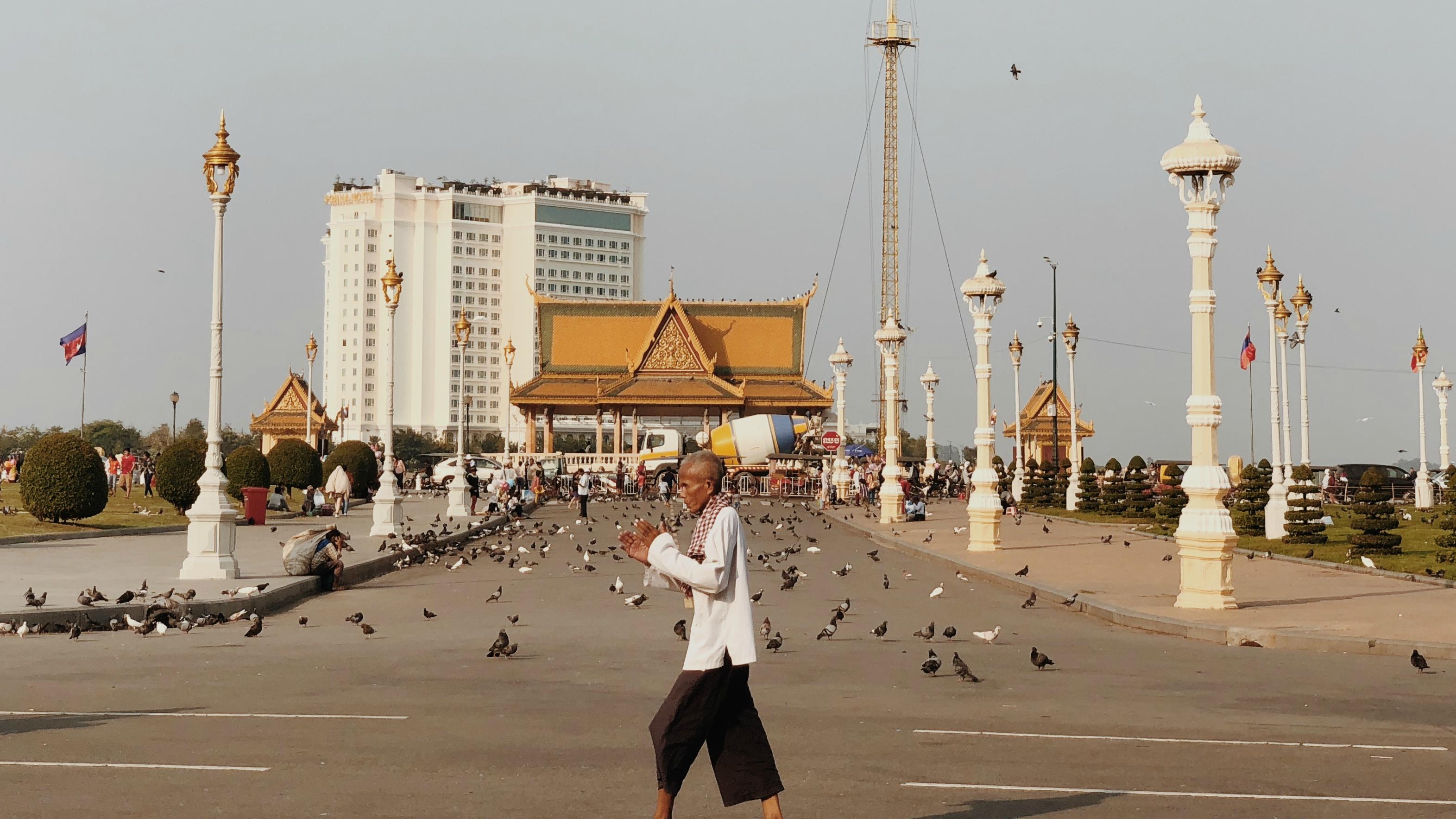 曬昏的柬埔寨旅遊日記(上)─海關索賄係金 A+金邊必去景點