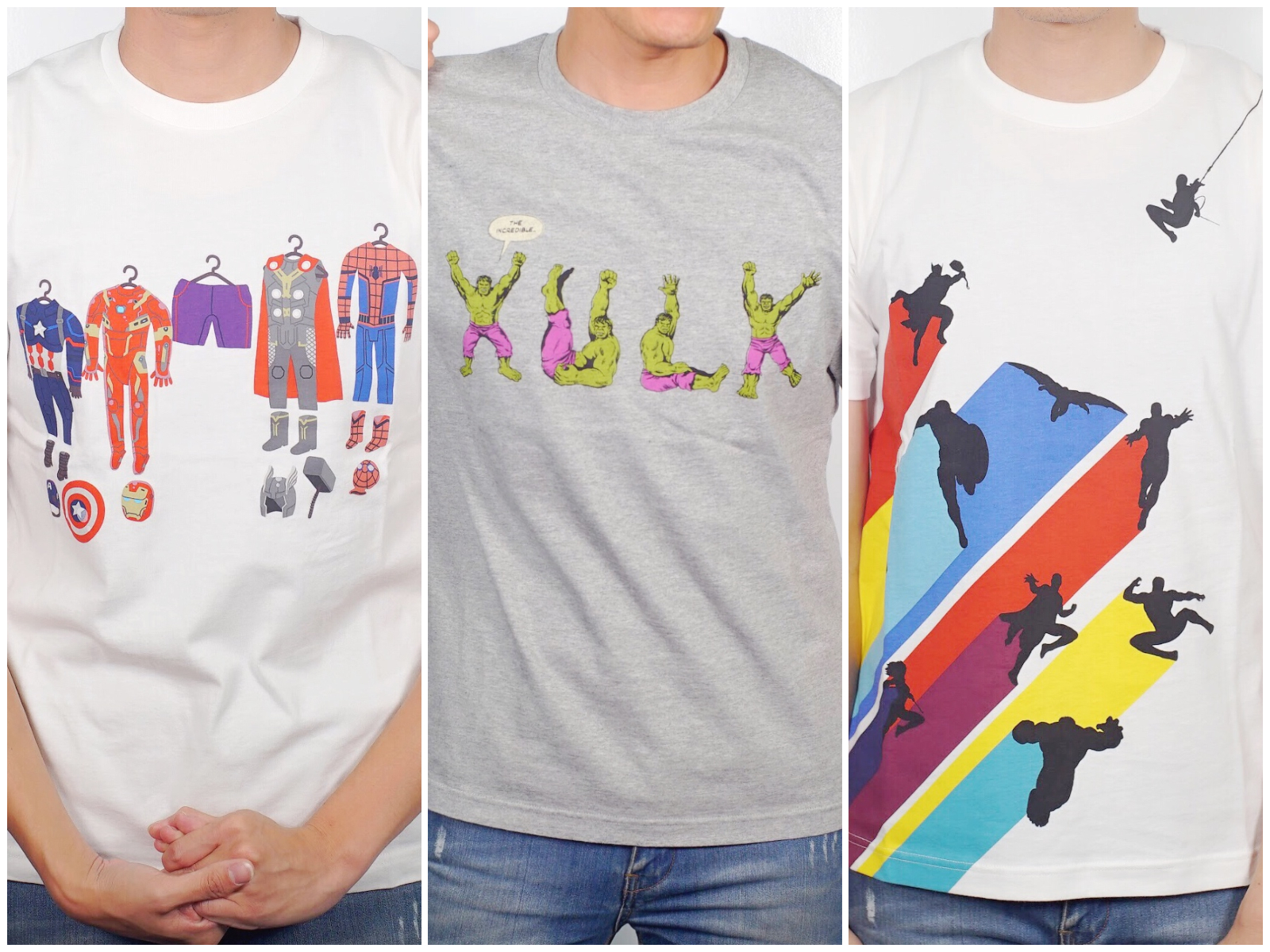 【復仇者聯盟 T 恤】UNIQLO 漫威聯名衣,台設計奪冠!