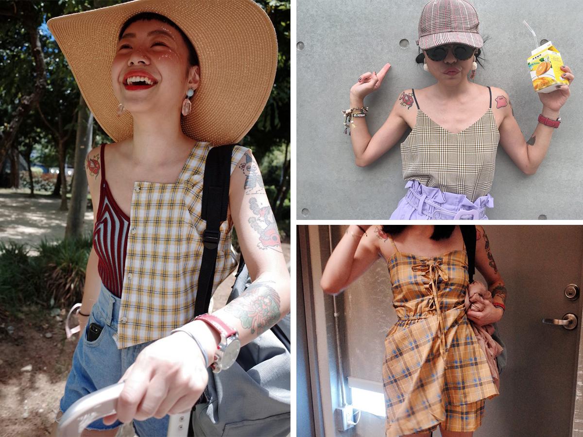 格紋穿搭大公開!讓你輕鬆擁有百變風格,小資女夏日必備款!