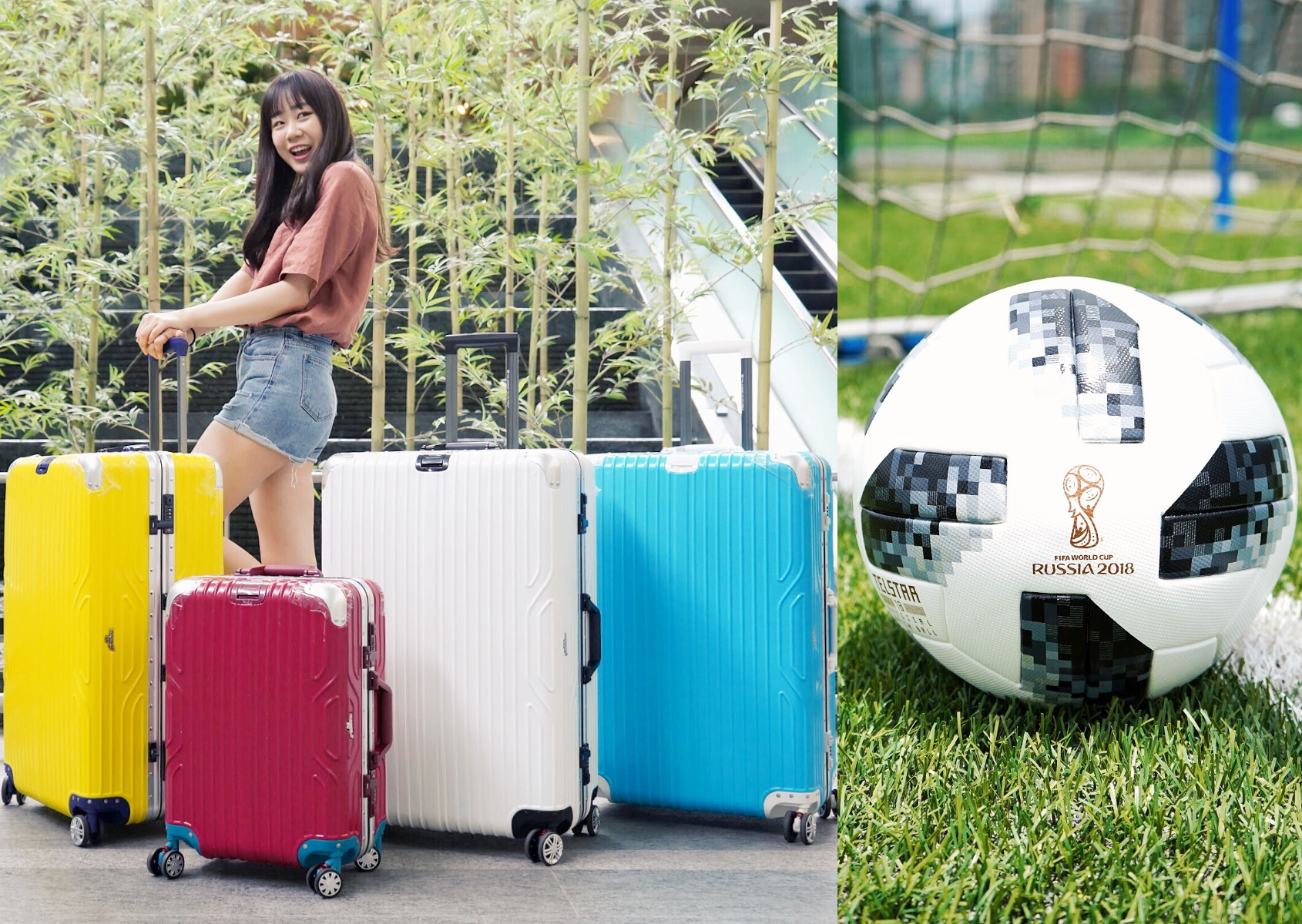 adidas 世足紀念球、球衣、Arowana 行李箱,最強最夯世界盃足球商品特蒐!