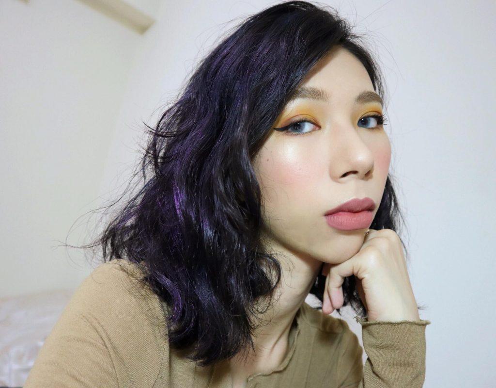 染髮 紫色