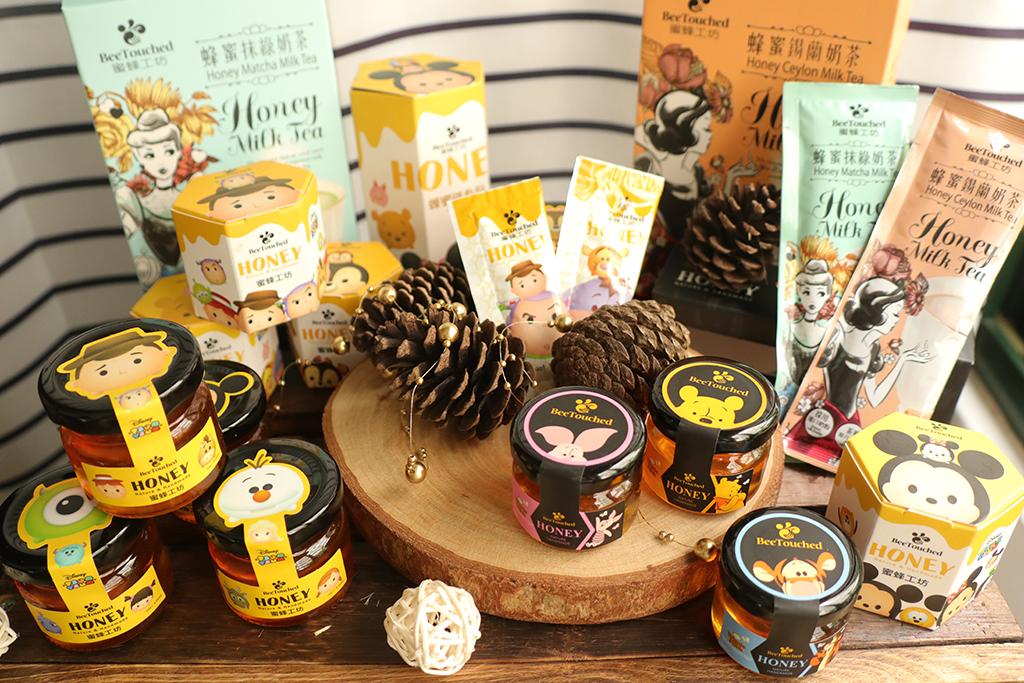 蜜蜂工坊 X 迪士尼 TsumTsum 卡通系列聯名蜂蜜,要你心頭甜到喜滋滋!