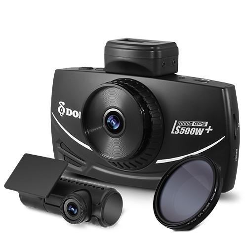 DOD LS500W 1080P 高畫質前後雙鏡頭 行車紀錄器