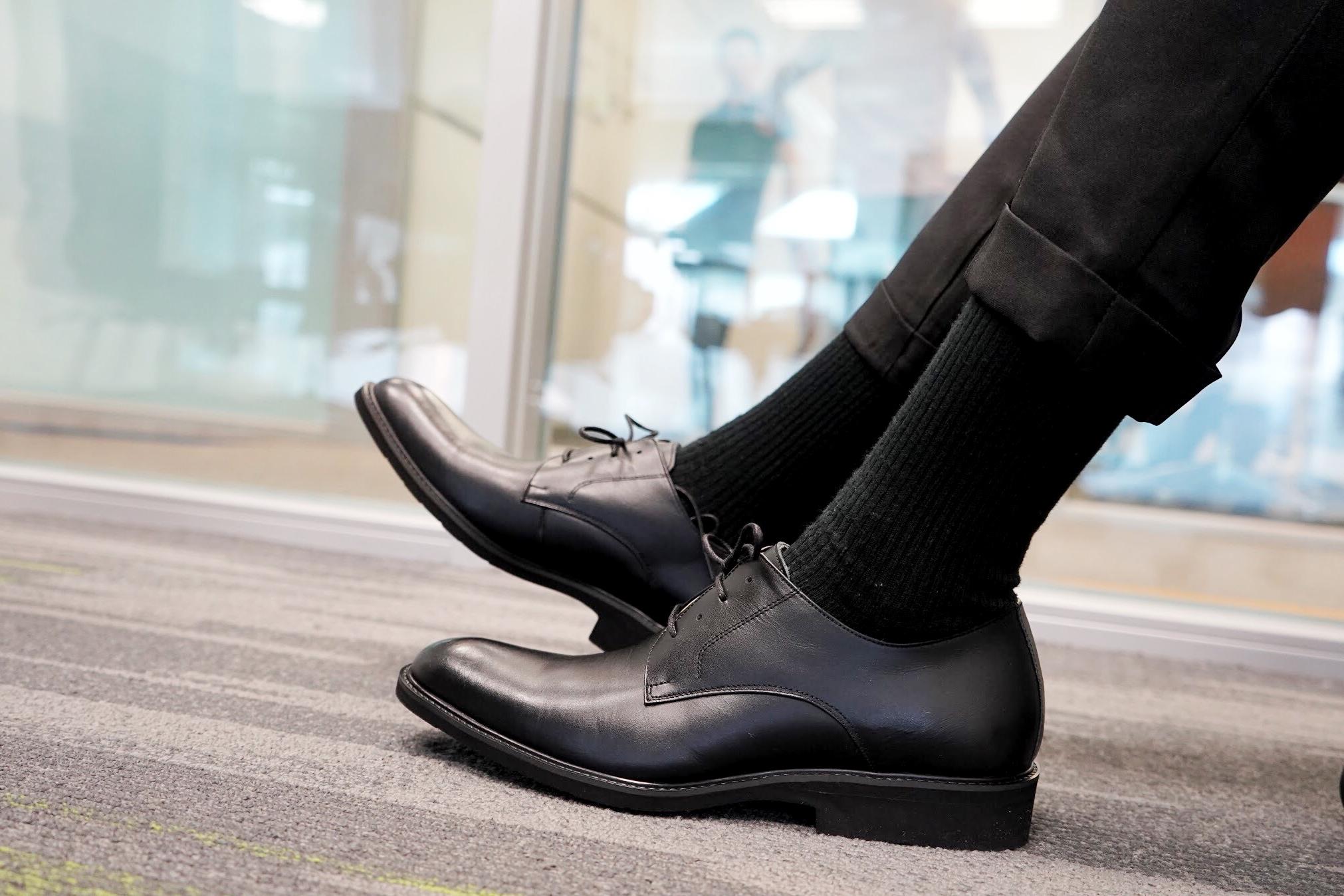 Lif8輕量牛皮德比皮鞋