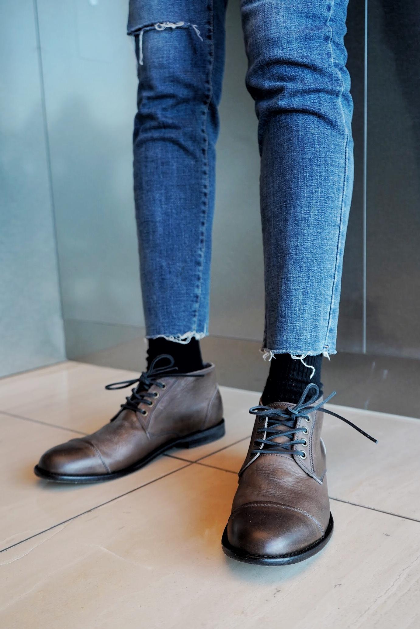 ARGIS德比皮鞋