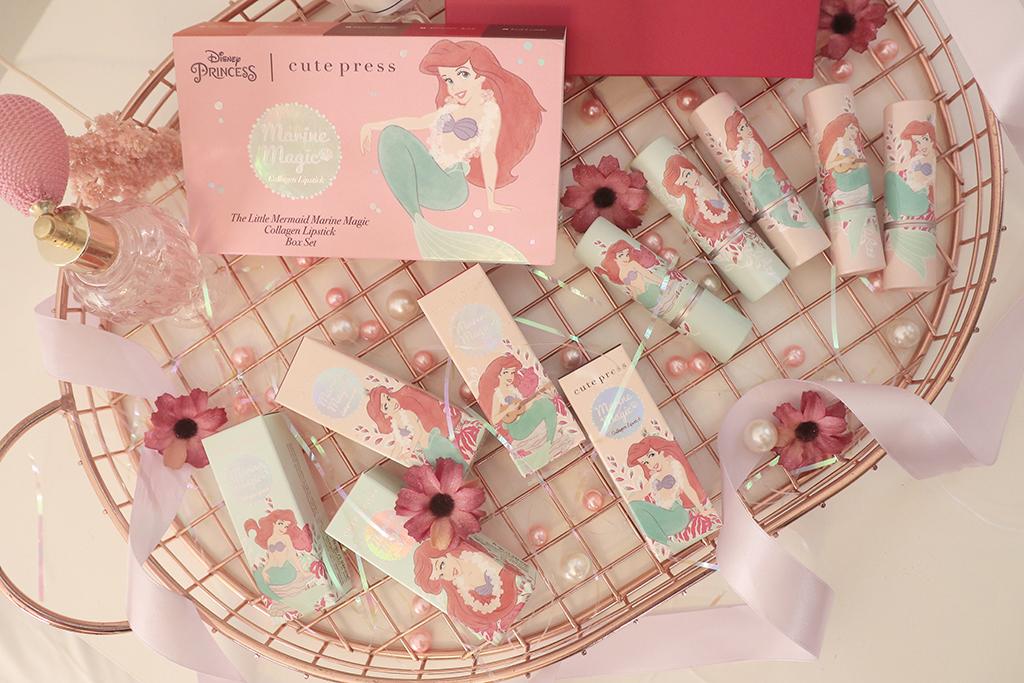 泰國美妝品牌推薦 來泰國必買口紅非 Cute Press 聯名小美人魚唇膏莫屬!平價又好用