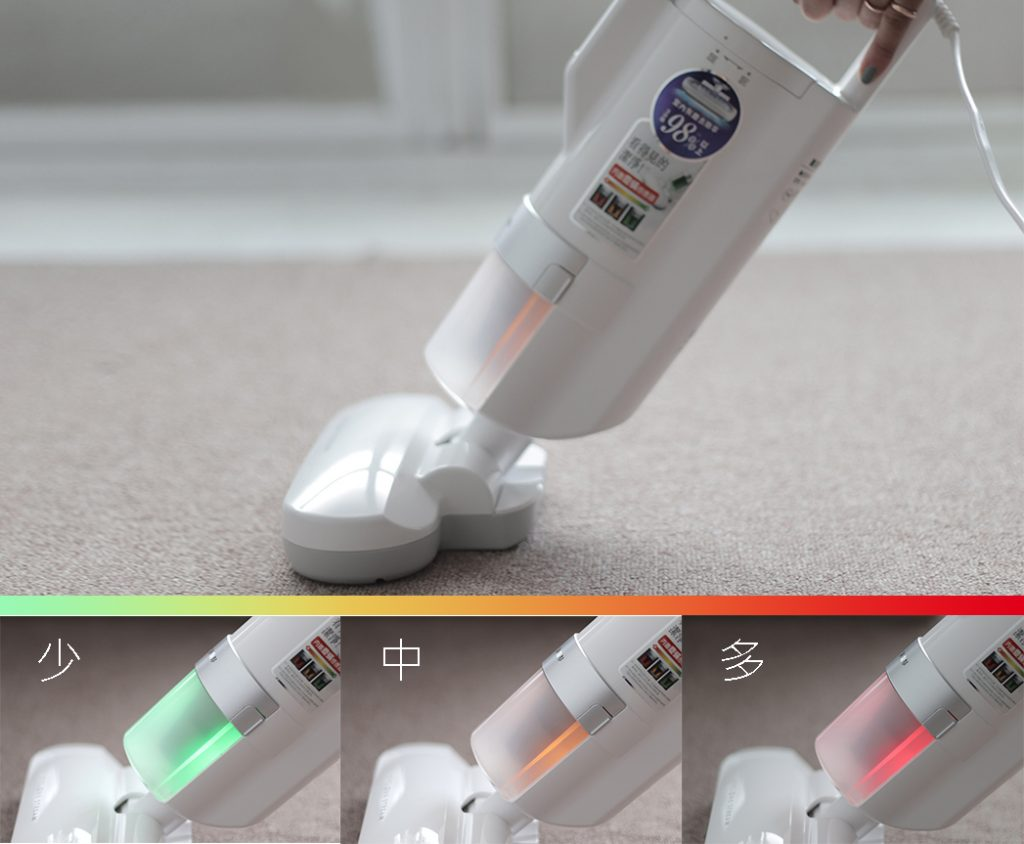 日本IRIS除塵蟎機檢測燈