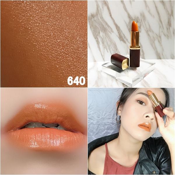 巴黎萊雅 奢華皮革訂製唇膏 #640