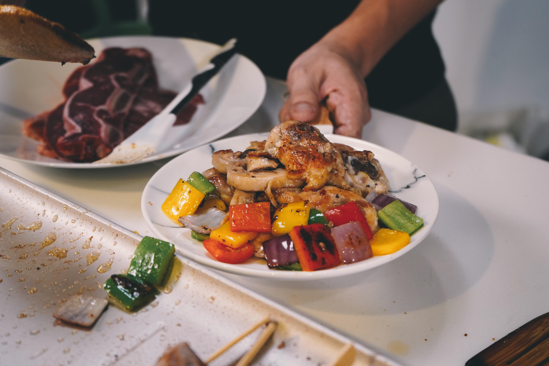 台灣嚴選切片雞腿 欣明生鮮烤肉食材組