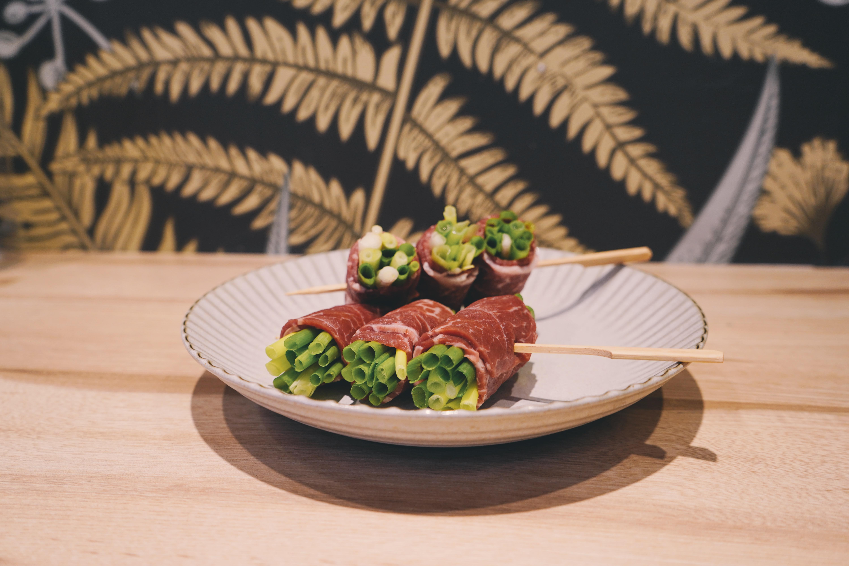 美國藍絲帶黑牛雪花烤片 欣明生鮮烤肉食材組