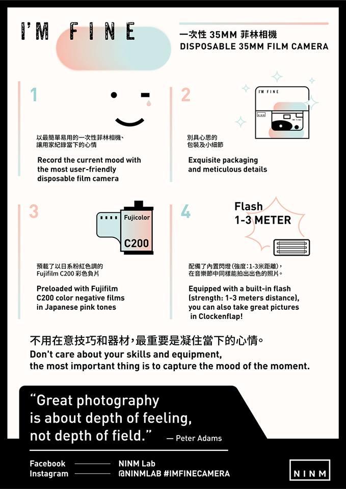 I′m Fine相機