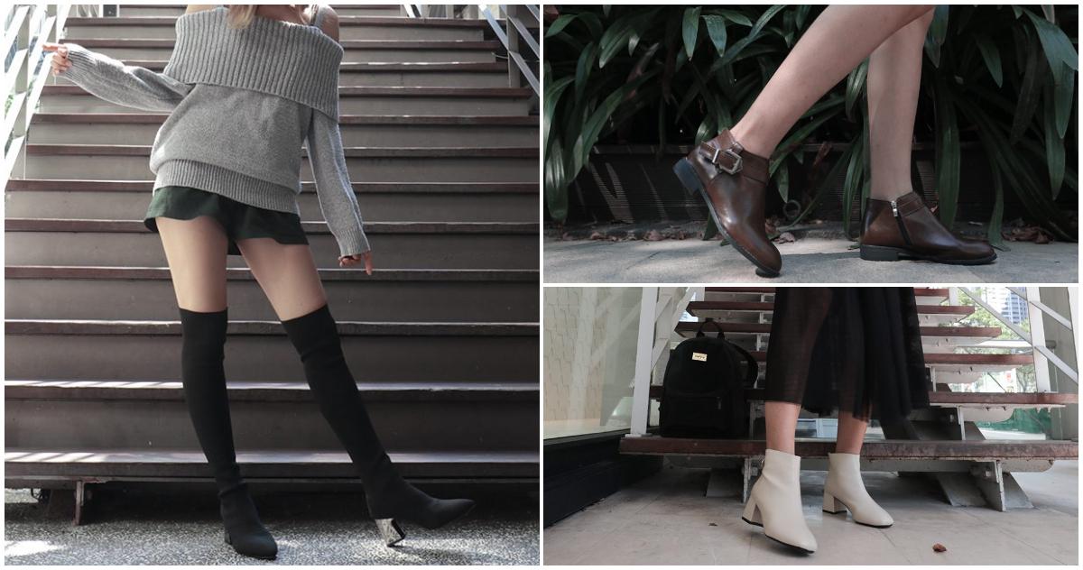 冬天靴子穿搭|詐欺顯瘦!讓你冬天穿再厚,看起來還是高挑顯瘦!
