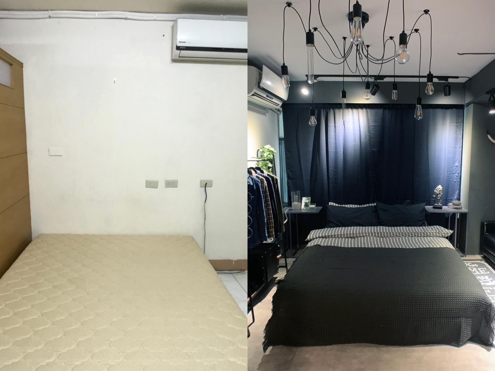 【居家改造 DIY】Lo-Fi House 小坪數房間裝潢 | 8 坪套房化身工業風美屋