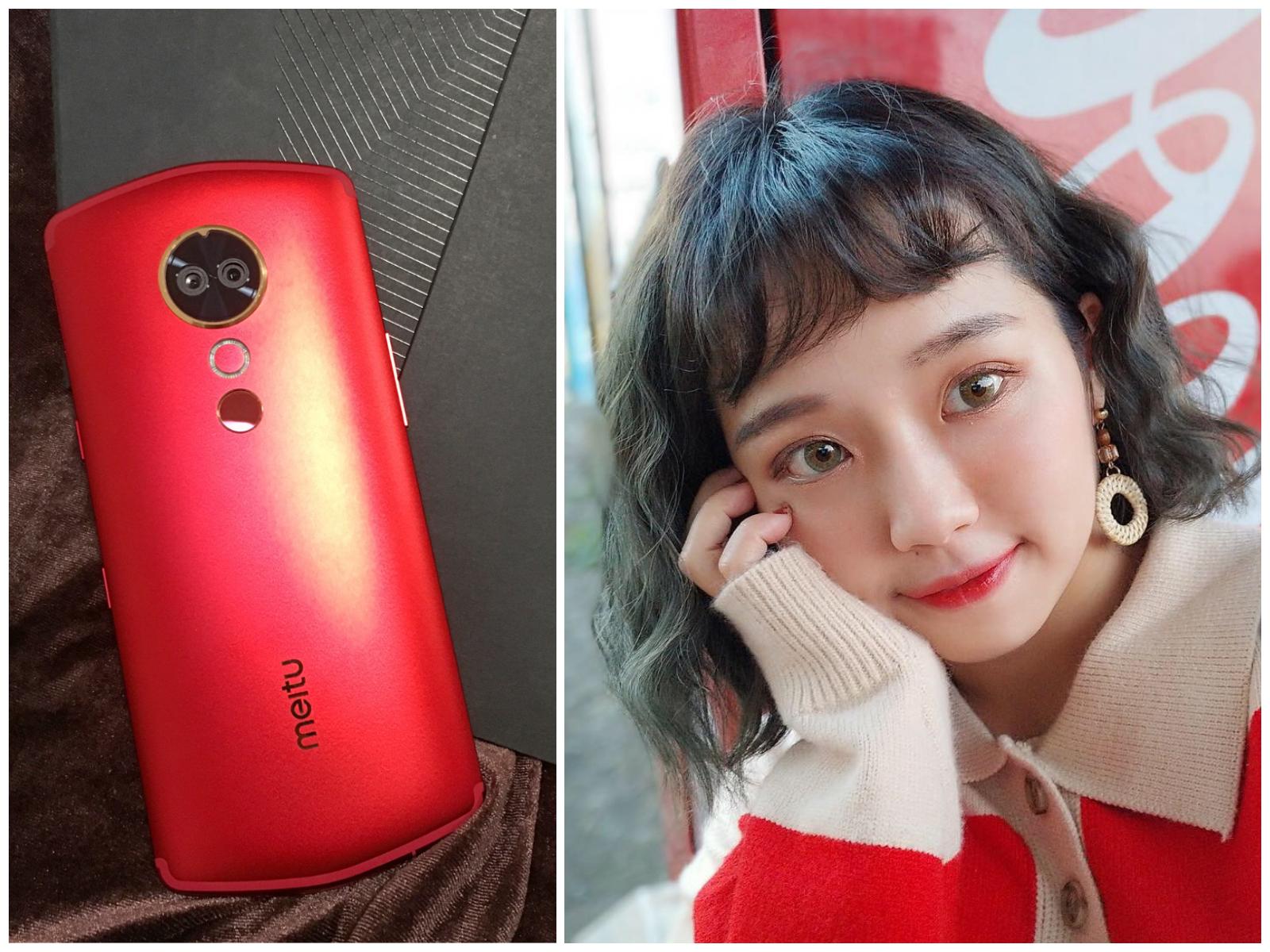 Meitu T9 手機開箱評測評價,景深+加深五官+黃金比例=自然變美の術