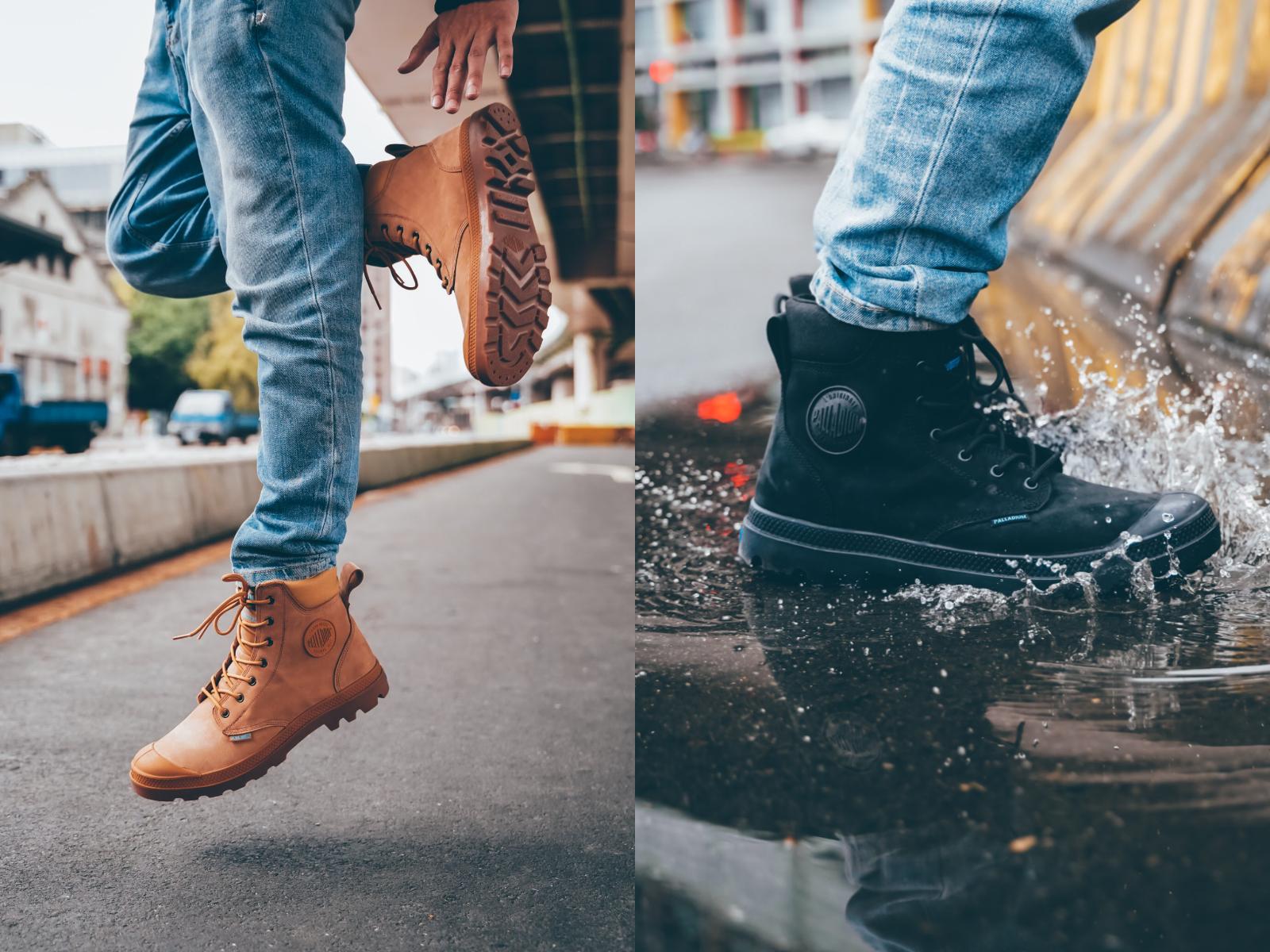 PALLADIUM防水靴
