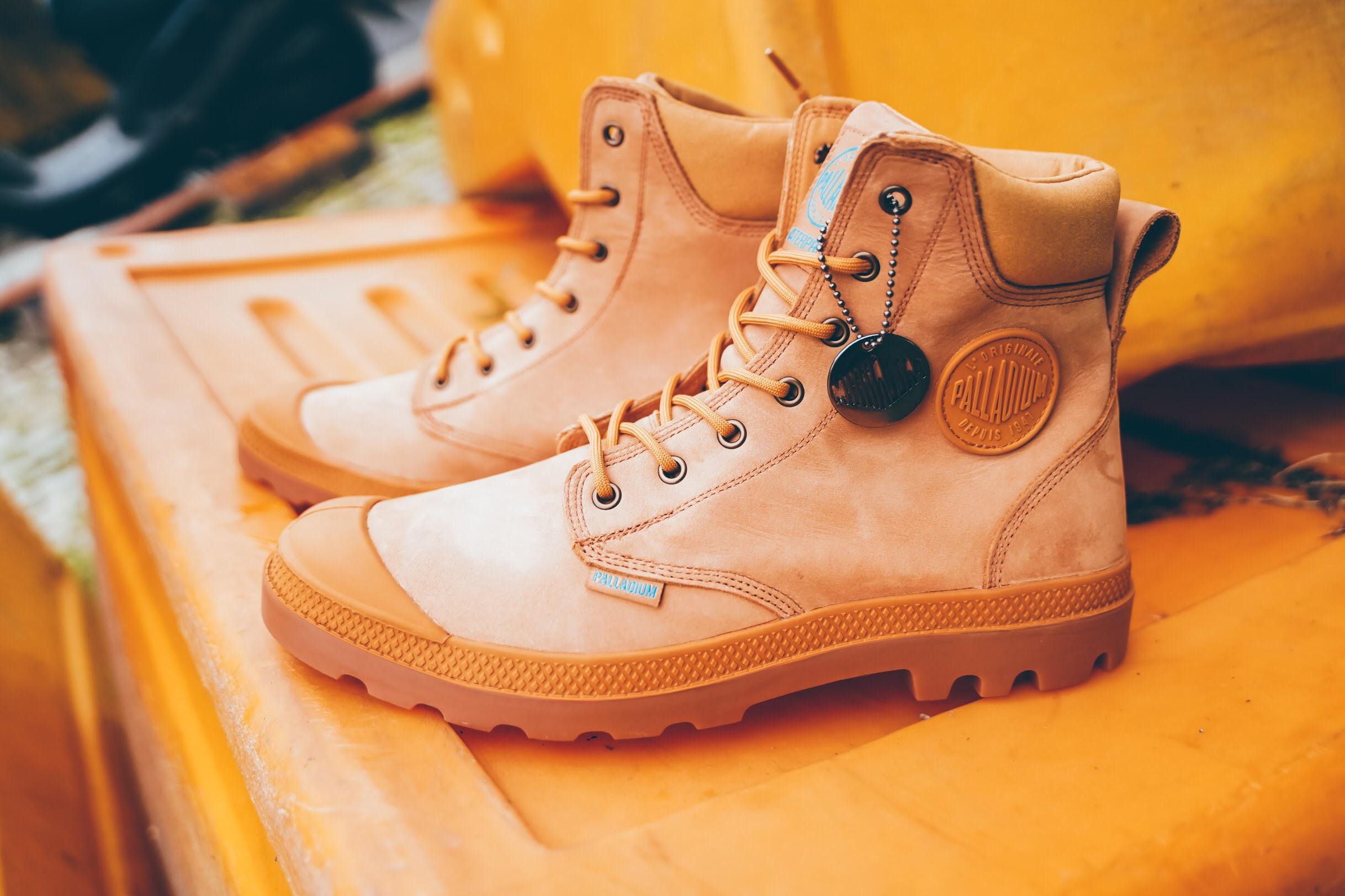 軍靴 款式