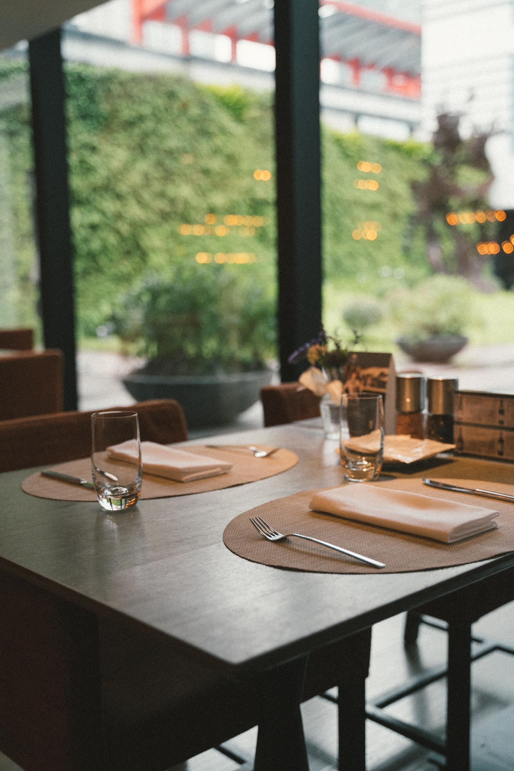 寒舍艾麗酒店LA FARFALLA義式餐廳裝潢
