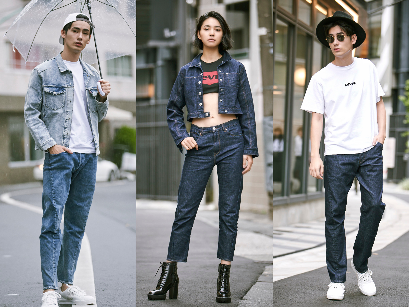 超帥牛仔褲 LEVI'S®新款 LEVI'S® ENGINEERED JEANS™,復刻丹寧穿搭