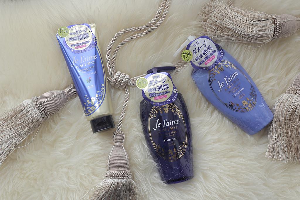 【保濕洗髮精】Je l'aime 爵戀髮膜推薦:深層保濕洗髮精+護髮乳拯救染燙髮質!