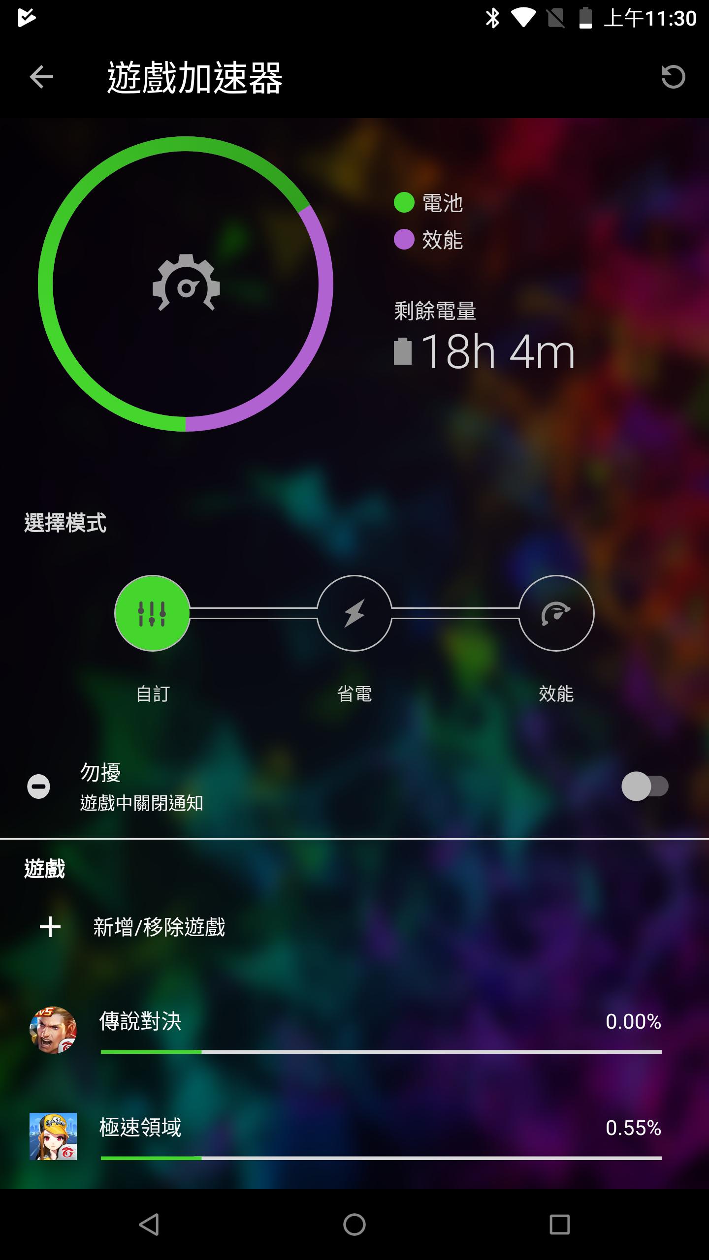 Razer Phone 2 電競手機 遊戲加速器