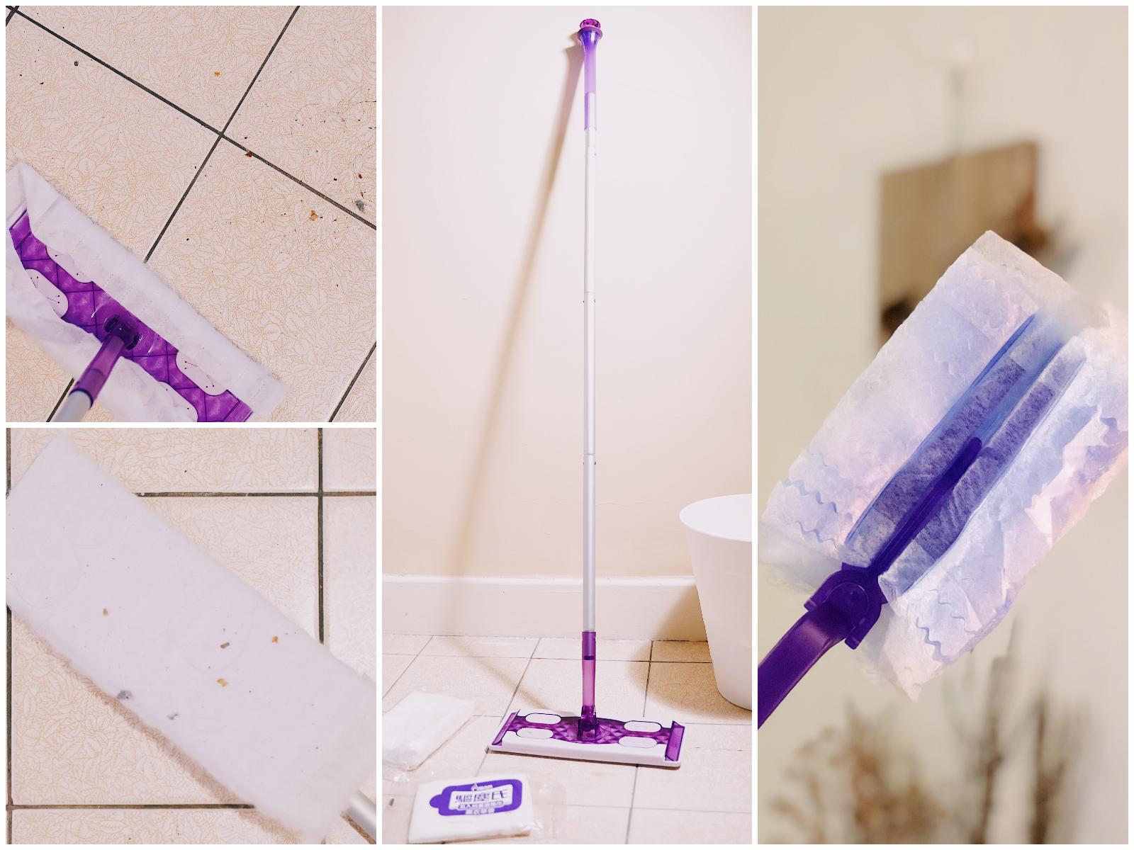 【除塵紙拖把推薦】驅塵氏靜電除塵紙+抗菌濕巾清潔力實測,懶人可以靠它們了