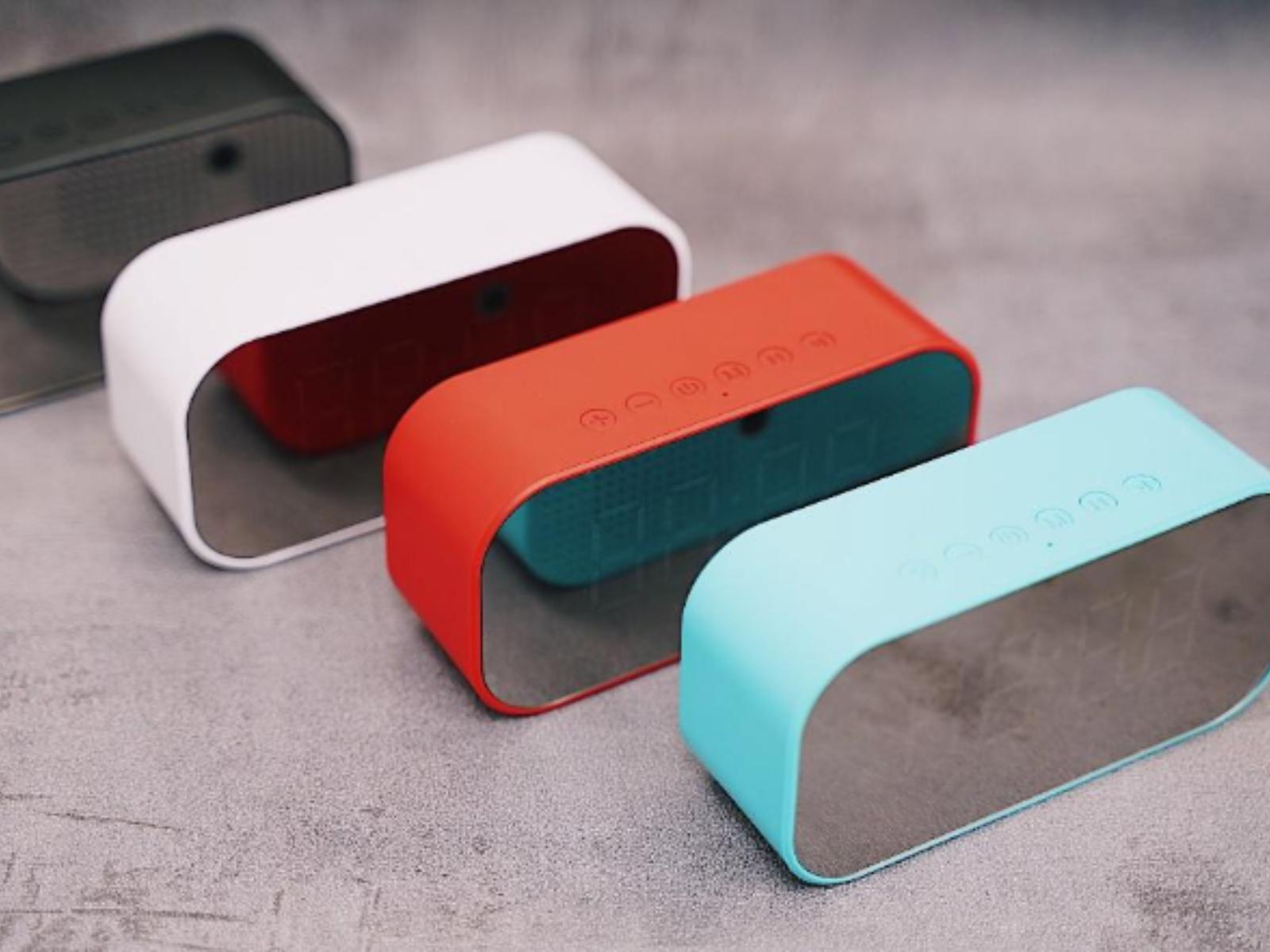【鬧鐘推薦】想要一台可以聽歌的鬧鐘?HongJin 宏晉鏡面多功能藍牙喇叭做得到!