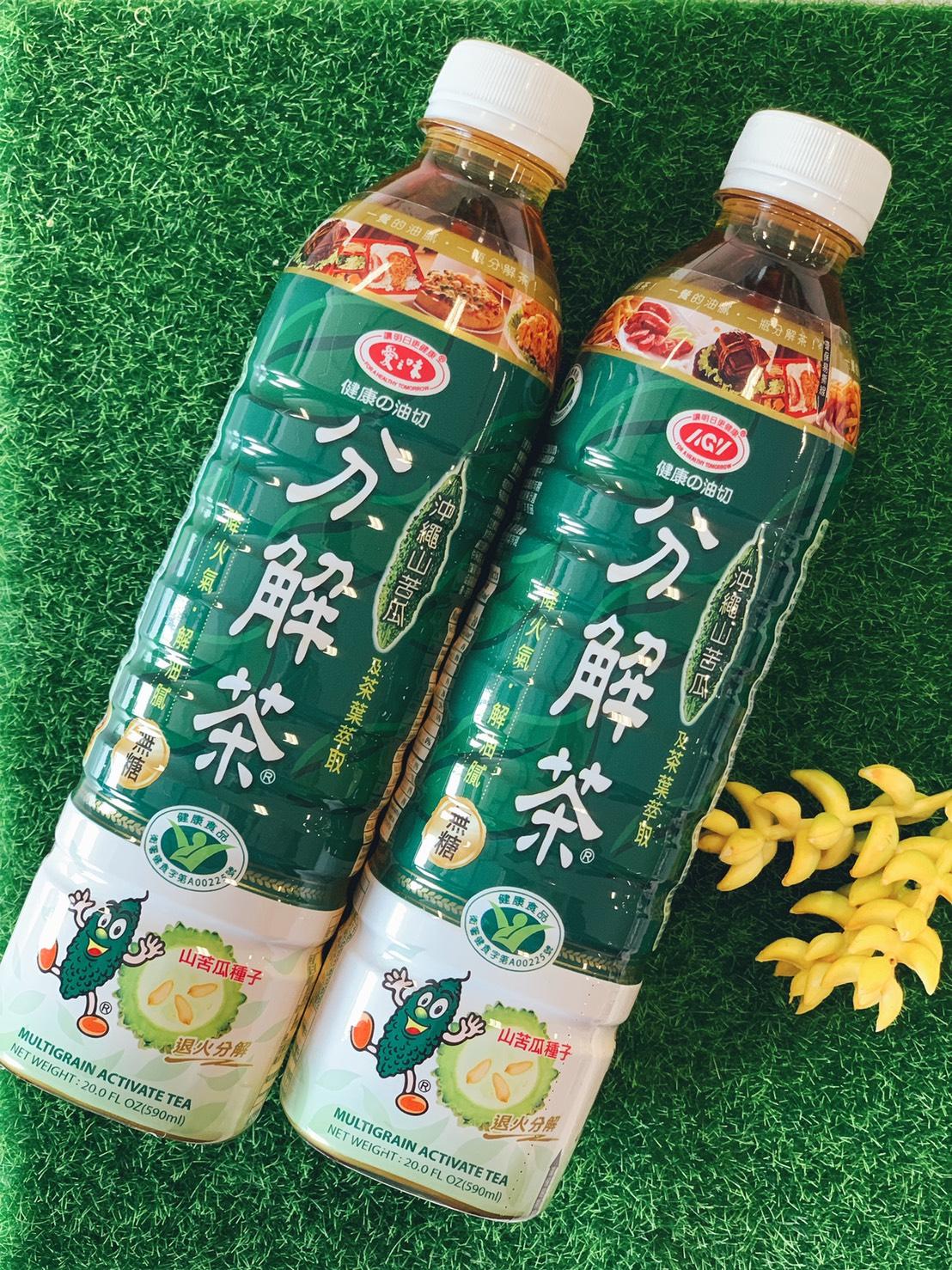 愛之味健康油切分解茶