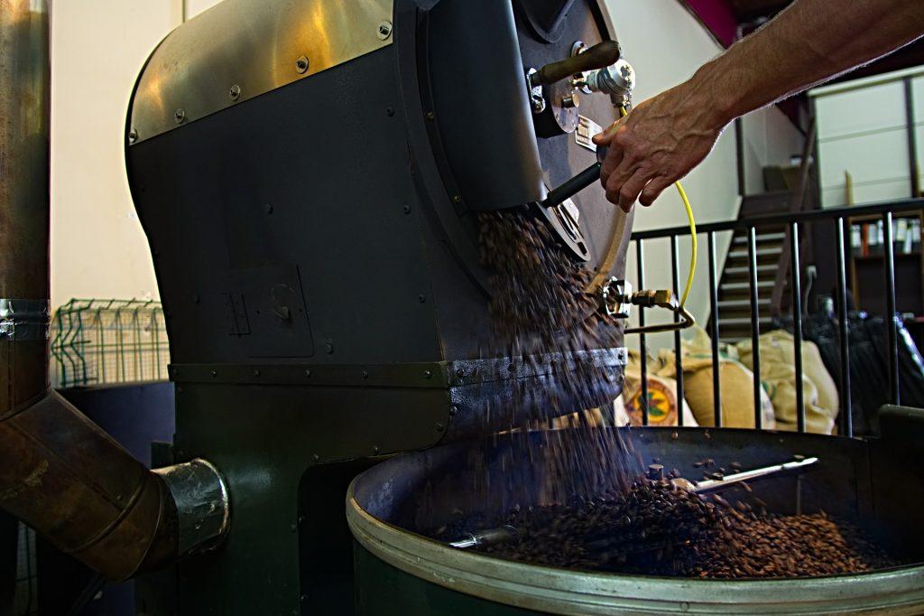 咖啡豆沖泡
