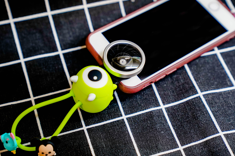 TSUM TSUM 超廣角/魚眼/微距 三合一手機鏡頭夾