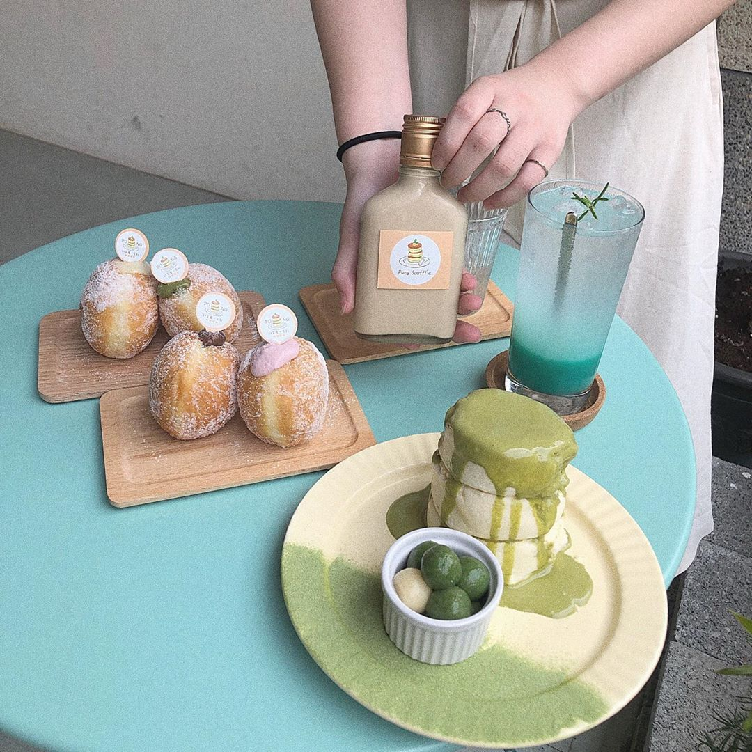 PUNG 舒芙蕾‧茶飲
