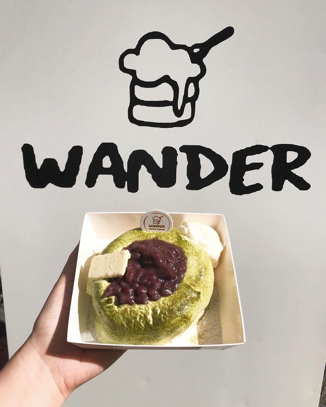 Wander soufflé pancake 漫步舒芙蕾鬆餅