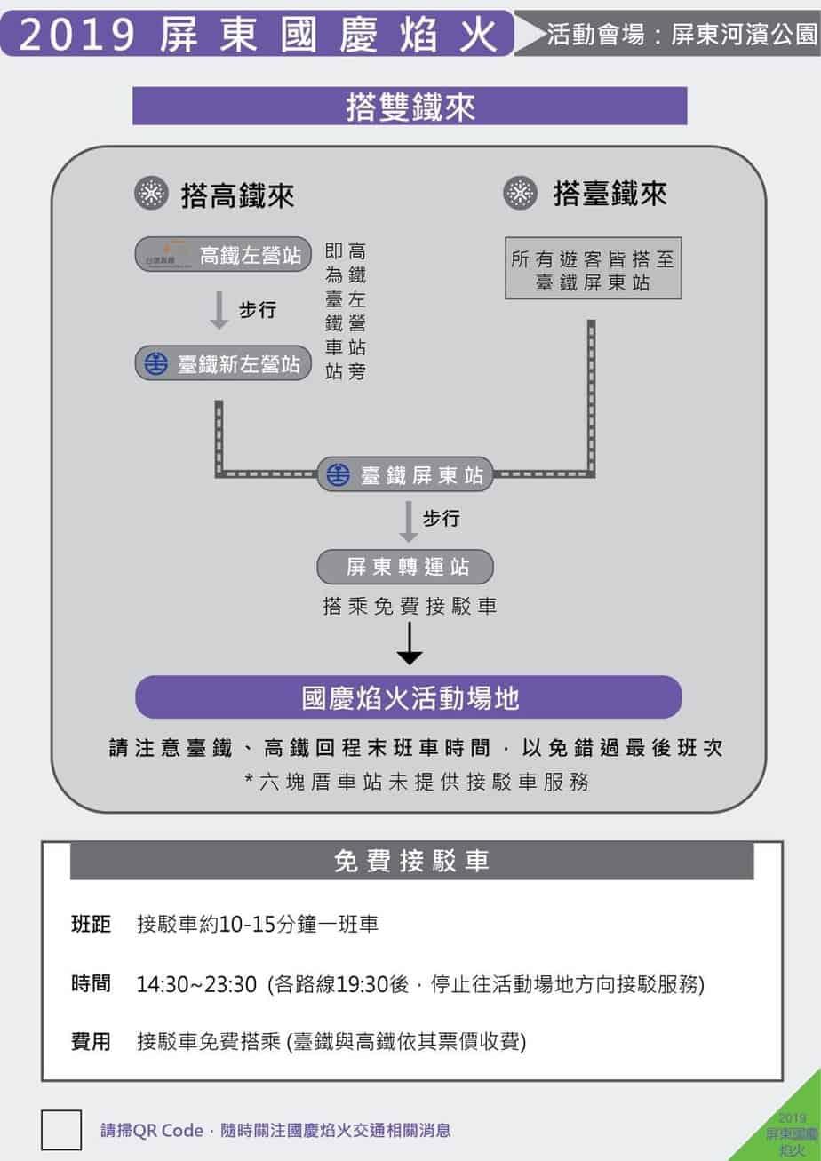 國慶煙火 高鐵火車