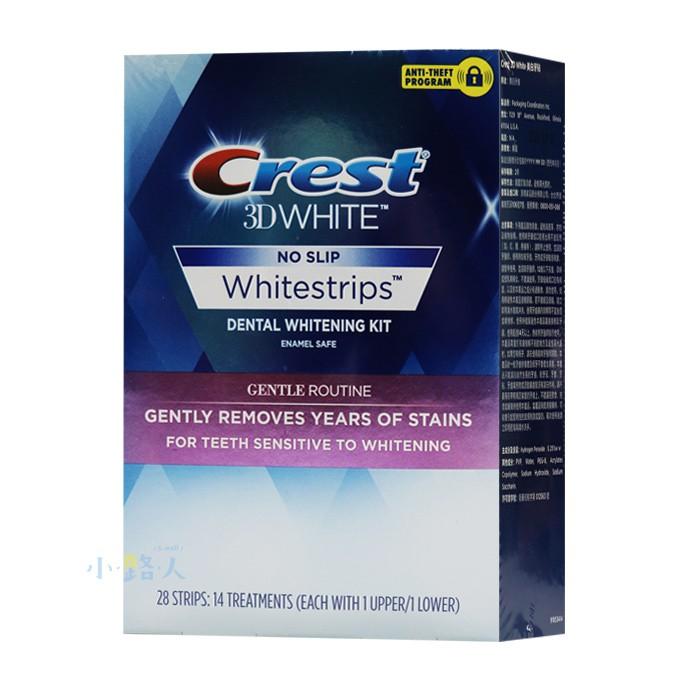 Crest|3D White美白牙貼
