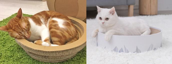 瓦楞貓窩/貓鍋/貓碗