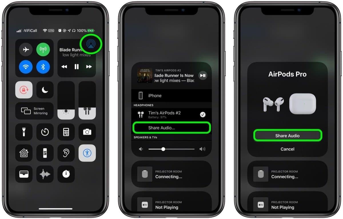 airpods pro 音訊分享