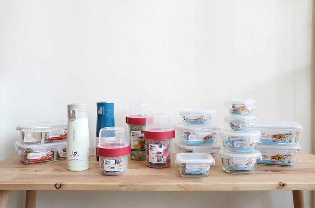 樂扣樂扣玻璃保鮮盒開箱!分隔保鮮盒、沙拉保鮮盒裝給你看!