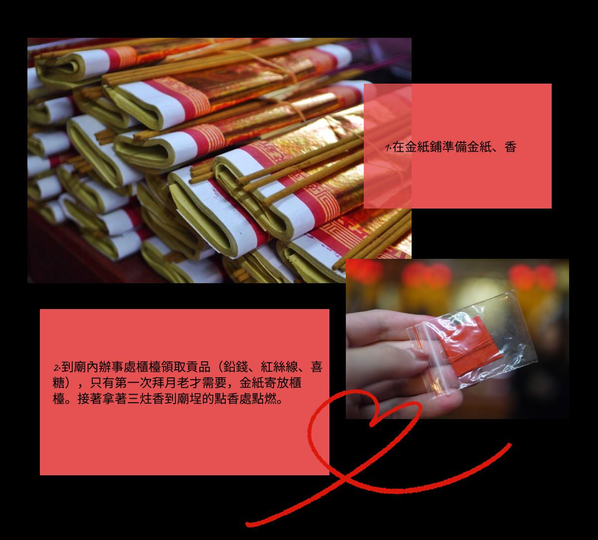 霞海城隍廟月老,求姻緣,求紅線步驟。