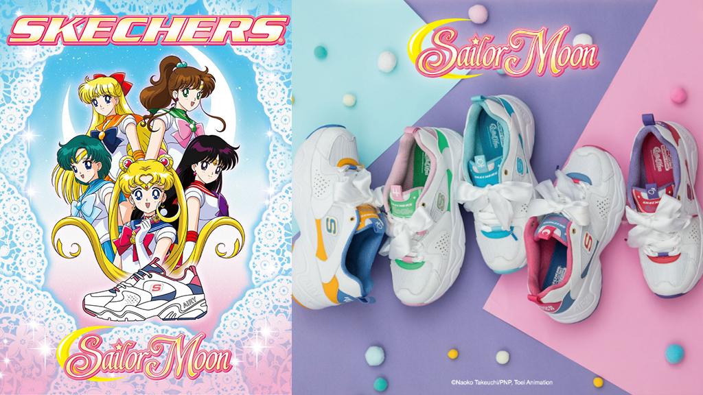 Sketchers美少女戰士聯名