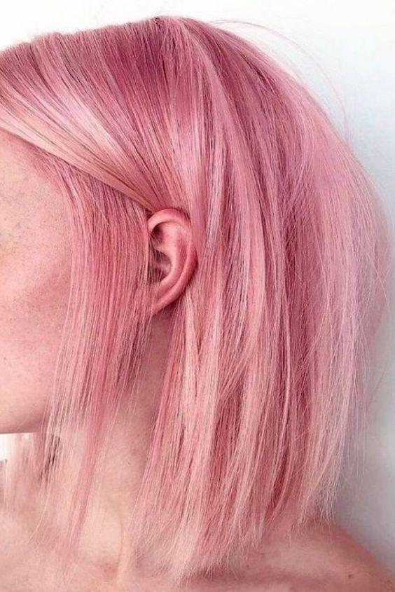 漂髮去色,染髮上色