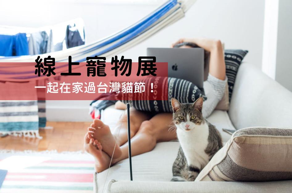 2020 在家逛線上寵物展!世貿寵物展延期?4/4 台灣貓節還是照樣過!