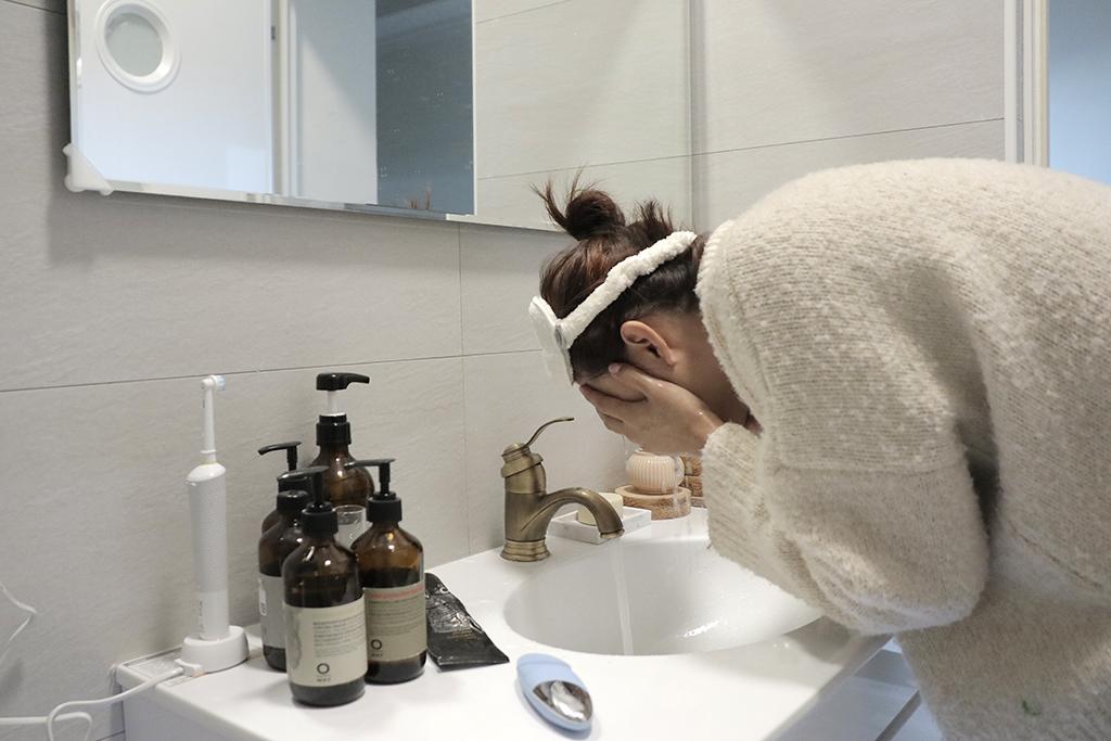 洗臉機怎麼用