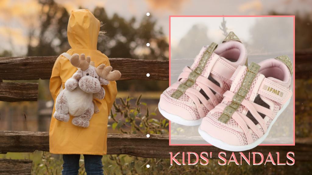 【兒童涼鞋推薦】IFME Water Shoes 超可愛日本兒童涼鞋舒適好穿,雨季來臨也不怕!