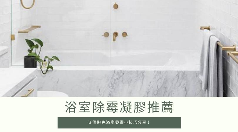 浴室除霉|浴室磁磚/膠條矽利康發霉怎麼辦?推薦除霉凝膠戰勝梅雨季!