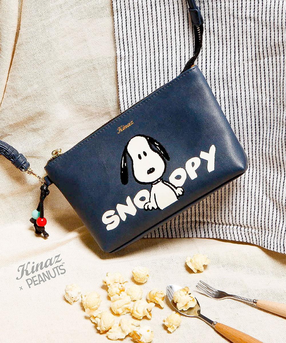 KINAZ X Snoopy 聯名包款