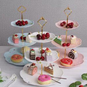 抓週派對佈置-甜點架