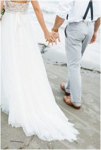 海邊自助婚紗