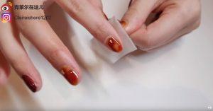 光療美甲DIY,怎麼自己做光療指甲-去除殘膠