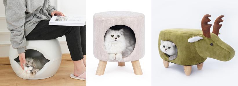 凳子貓窩/貓窩凳子